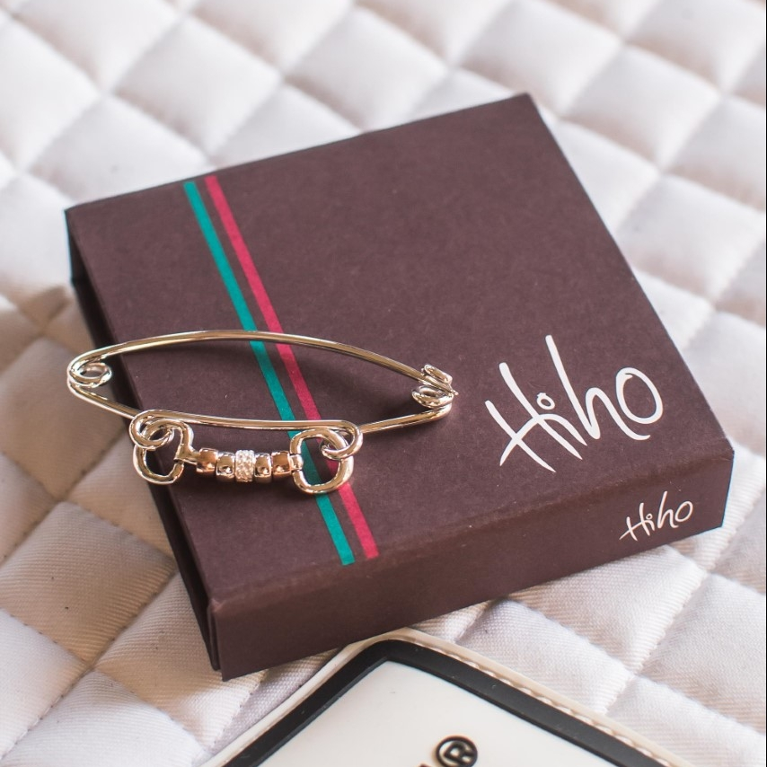 hiho silver braclet and packaging
